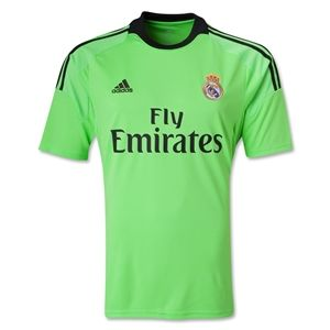 adidas Real Madrid 13/14 Away Goalkeeper Soccer Jersey