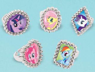 My Little Pony Friendship Magic Jewel Rings
