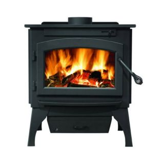 Timberwolf Economizer EPA Small Wood Burning Stove Multicolor   2100 EP21L
