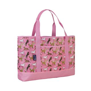 Wildkin Horse Dreams Carry All Tote, Pink, Girls