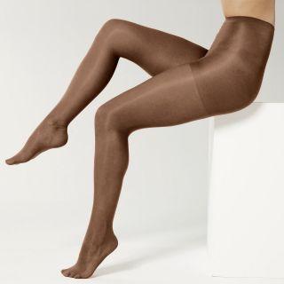 Sheer Caress Pantyhose, Support Control Top 3 Pk, Walnut, Womens