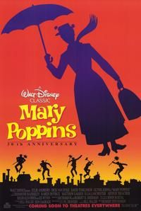MARY POPPINS ANNIVERSARY Movie Poster