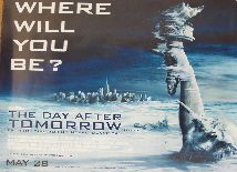 The Day After Tomorrow   Style B (British Quad) Movie Poster
