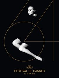 CANNES FILM FESTIVAL 2011 Poster