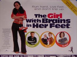 The Girl With Brains in Her Feet (British Quad) Movie Poster