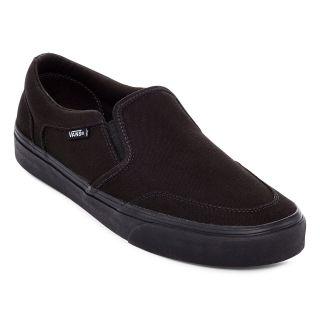 Vans Asher Mens Skate Shoes, Blk/blk
