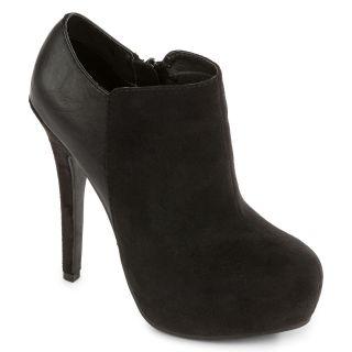 OLSENBOYE Ramona High Heel Ankle Shoes, Black, Womens