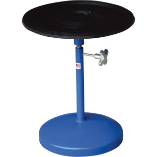 Vestil Heavy Duty Manual Turntable   With Pedestal, 300 Lb. Capacity, 18 Inch