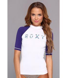 Roxy Perfect Stripe S/S Surf Shirt Womens Swimwear (White)