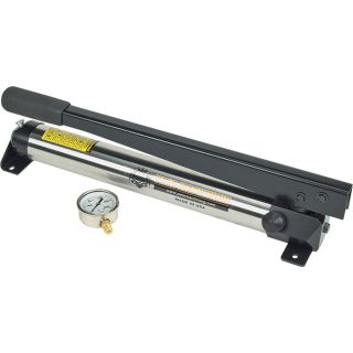 Pals Machining Hydraulic Hand Pump   4700 PSI, 3/4 Inch Piston