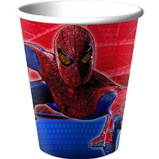 The Amazing Spider Man 9 oz. Paper Cups