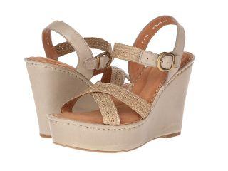 Born Estefania ) Womens Wedge Shoes (Beige)
