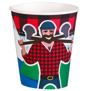 LumberJack 9 oz. Paper Cups