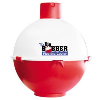 Byers The Big Bobber Floating Cooler   Red/ White