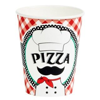 Itzza Pizza Party   9 oz. Paper Cups
