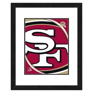 NFL San Francisco 49ers Framed Team Logo Design