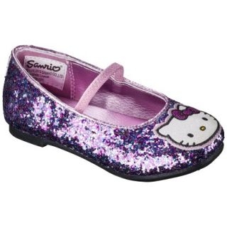 Toddler Girls Hello Kitty Ballet Flat   Multicolored 11