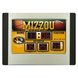 Team Sports America Missouri Scoreboard Desk Clock
