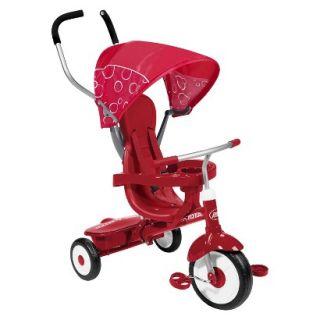 Radio Flyer Kids 4 in 1 Trike   Red