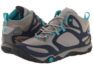 Merrell Proterra Mid Gore Tex Womens Shoes (Gray)