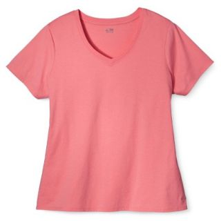 C9 by Champion Womens Plus Size Power Workout Tee   Sunset 3 Plus