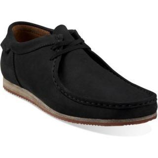 Clarks Wallabee Run Shoes  Mens,  Black NUBUCK,  11.5
