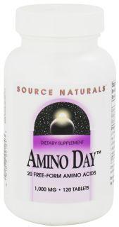 Source Naturals   Amino Day 1000 mg.   120 Tablets