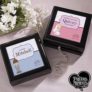 Personalized Precious Moments First Communion Keepsake Box