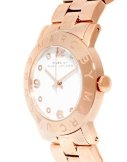 Marc By Marc Jacobs  Marc By Marc Jacobs Amy Rose Gold Bracelet Watch