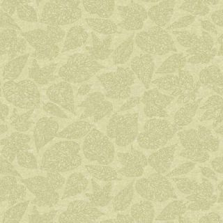 The Wallpaper Company 56 sq. ft. Green Leaf Print Wallpaper WC1280715