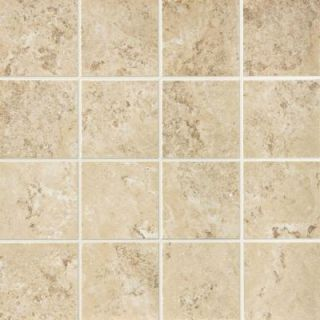 Daltile Palatina Corinth Cream 12 in. x 12 in. x 8mm Porcelain Mosaic Floor and Wall Tile (6.71 sq. ft. / case) DISCONTINUED PT9533MS1P