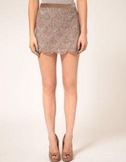 A Wear  Falda con adornos de AWear en