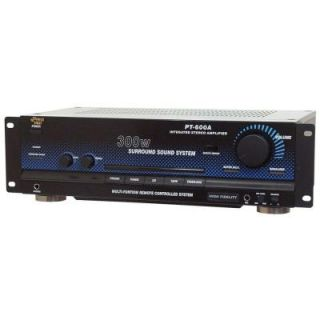 Pyle 300W Stereo Receiver / Amplifier PT600A