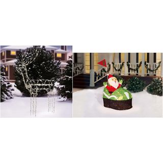 Christmas Yard Decor Value Bundle (Choose 2) Christmas Decor