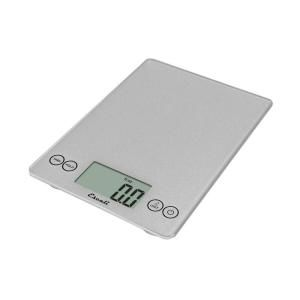 Escali Arti Glass Digital Food Scale in Shiny Silver 157SS