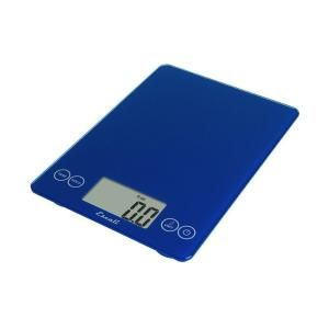 Escali Arti Glass Digital Food Scale in Electric Blue 157EB