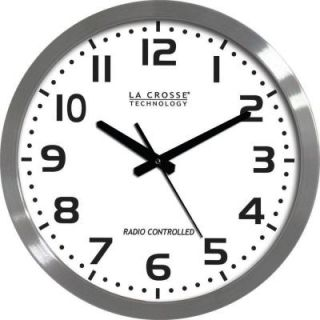 La Crosse Technology 16 in. Analog Atomic Clock WT 3161WH