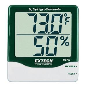 Extech Instruments Big Digit RH/Temperature Indicator 445703