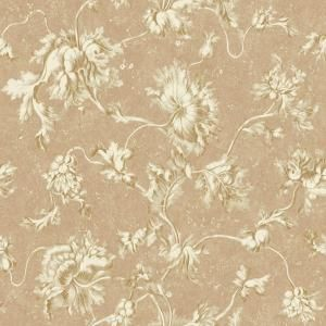 York Wallcoverings 56 sq. ft. Floral Texture Vine Wallpaper DC1380