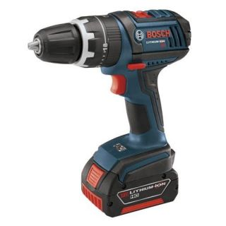 Bosch HDS181 01 18 Volt Cordless Compact Tough 1/2 Inch Hammer Drill / Driver Kit Tools