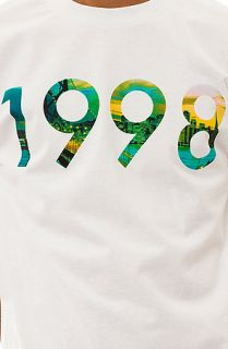 Diamond Supply Co. Tee 1998 SF Lights in White
