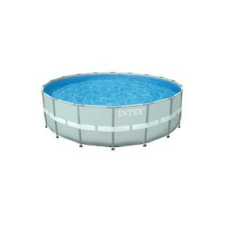 Intex 16 ft. x 48 in. Ultra Frame Pool Set with 1200 gal. Sand Filter Pump 28323EG