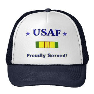 Proudly Served Air Force Hats
