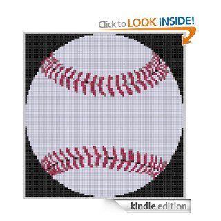 Baseball 2 Cross Stitch Pattern eBook: Mother Bee Designs: Kindle Store