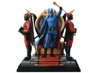 Sideshow Collectibles   G.I. Joe diorama Cobra Commander 30 cm: Toys & Games