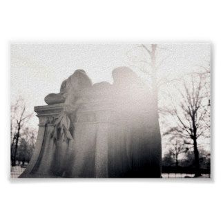 heavenly weeping angel print