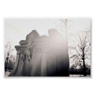 heavenly weeping angel print