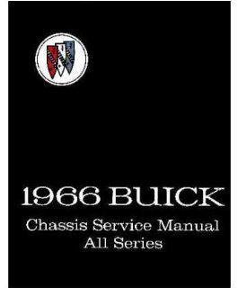 1966 Buick Riviera Skylark Special Wildcat Service Repair Manual Book Engine Automotive