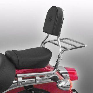 Sissy Bar + Gepackträger Fehling Honda Shadow VT 125 C 99 09: Auto