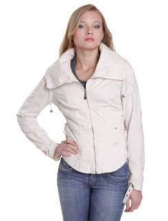 Diesel   Jacken   Damen   Veste Diesel Femme blanc cassé grand col zip Tremux 163   L: Bekleidung